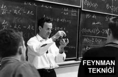 Öğrenmeyi ve Hatırlamayı Kolaylaştıran Yöntem: Feynman Tekniği