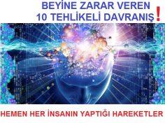 Beyine Zarar Veren 10 Tehlikeli Davranış